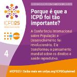 Porque é que a ICPD foi tão importante?