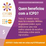 Quem beneficou com a ICPD?