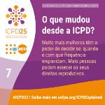 O que mudou desde a ICPD?
