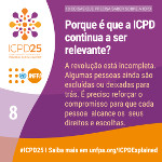 Porque é que a ICPD continua a ser relevante?