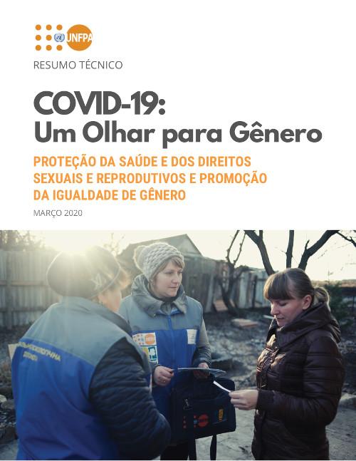 COVID-19: Um Olhar para Género