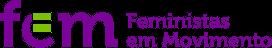 logo feministas em movimento