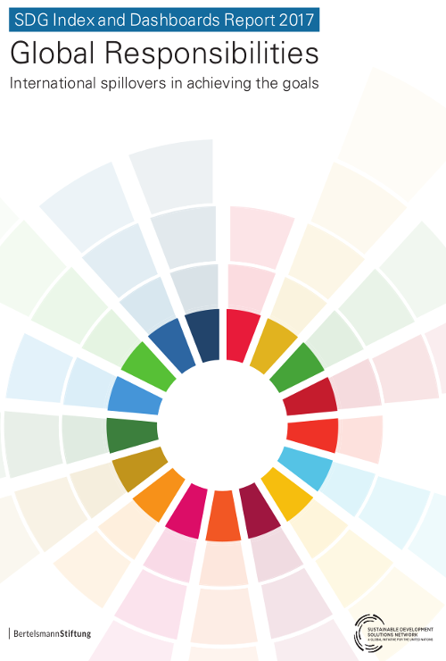 2017 SDG Index and Dashboards Report 500x740