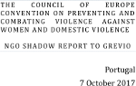 NGO Shadow Report Portugal GREVIO 7 OUT 2017